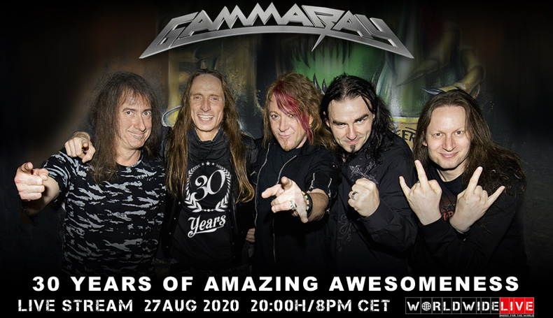 Gamma Ray Livestream Slideshow Banner 2020